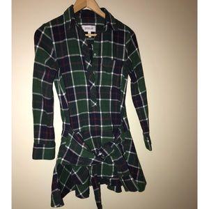 Derek Lam 10 Crosby Dress Cotton Tie Waist size 0